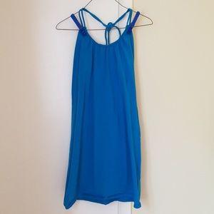 VS Bra Top Dress, Dark Turqoise Blue